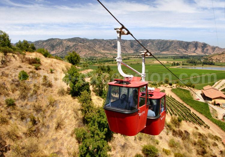 Télécabines de la Viña Santa Cruz, Colchagua