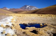 Parc national Llullaillaco, volcan Llullaillaco 6739 m. Crédit Eduardo Atalah