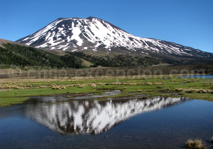 Parc national Tolhuaca, volcan Lonquimay. Crédit Miguel Jimenez Barros