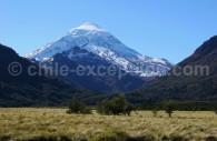 Volcan Lanín, Patagonie argentine