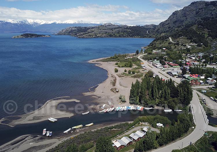 Puerto Rio Tranquilo, Patagonie