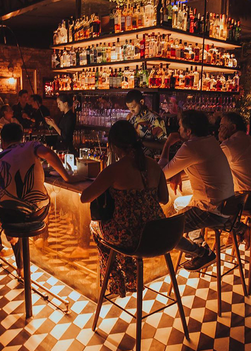 Bars de Santiago du Chili