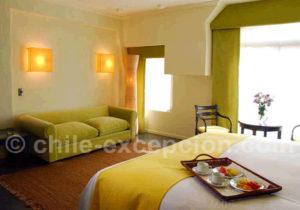 Hotel Fundador, chambre matrimoniale