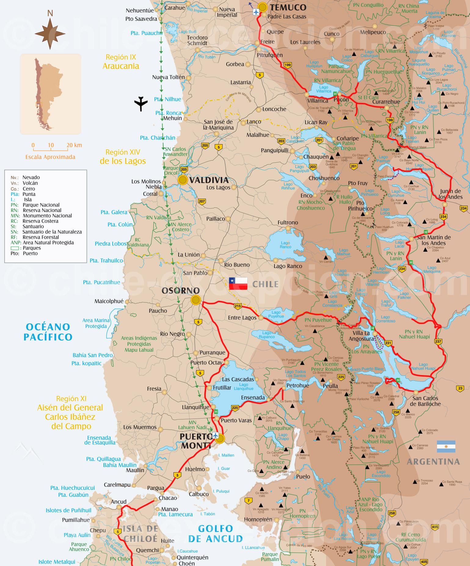 Patagonie entre lacs, volcans et îles - 16