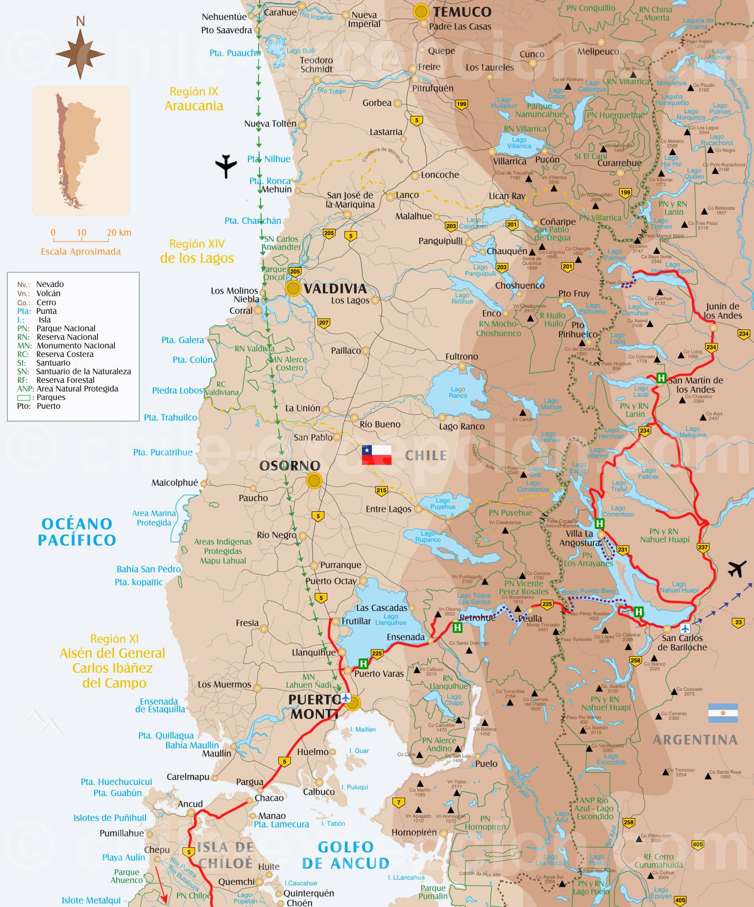 Traversée des Andes par les lacs - 5