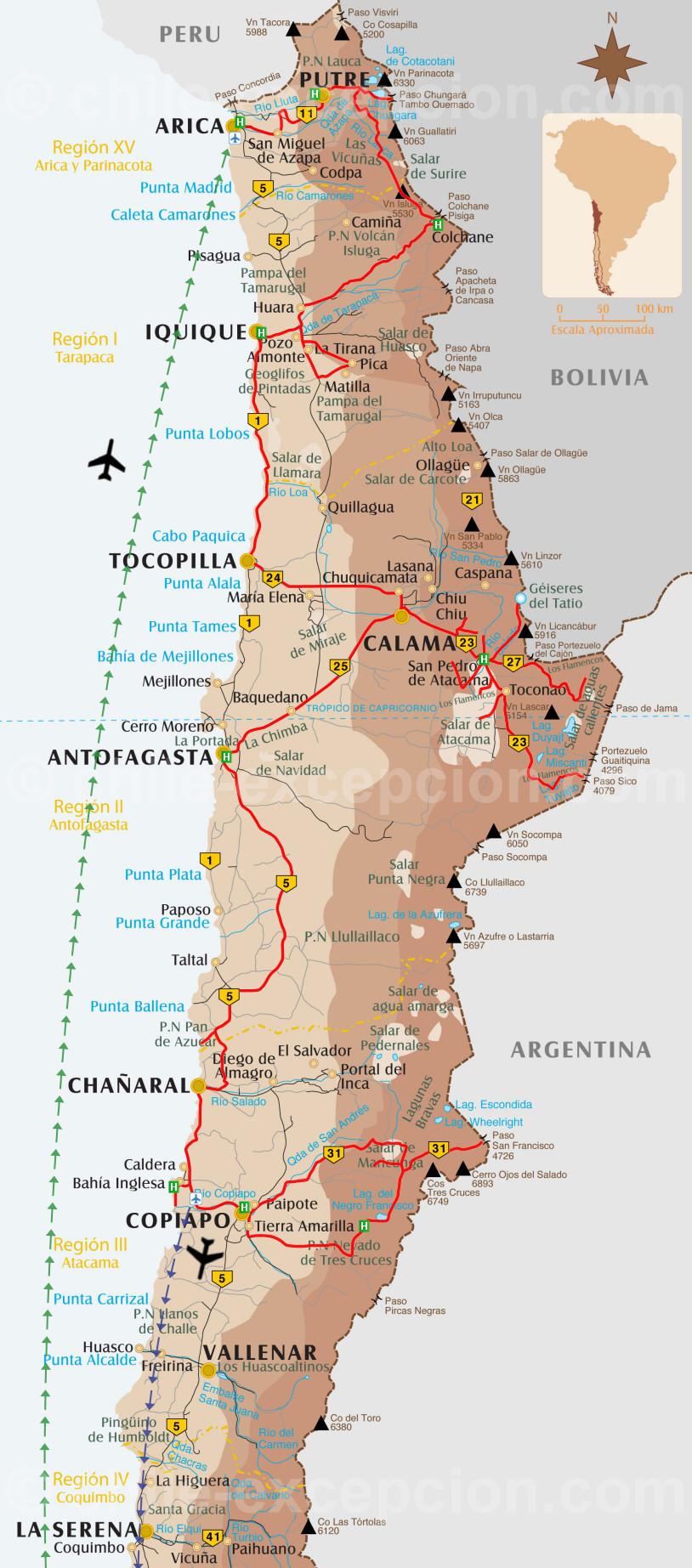 Désert d'Atacama d'Arica à Copiapó - 10