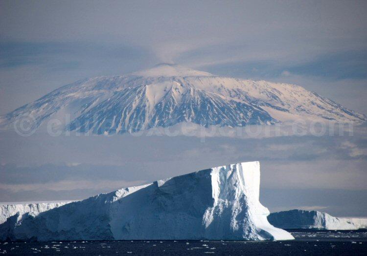 Icebergs, Mer de Ross, Antarctique. Crédit Dan Leeth