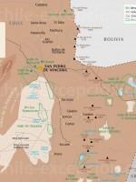 Carte Zoom San Pedro de Atacama
