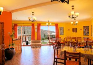 Terrace Lodge, salle à manger