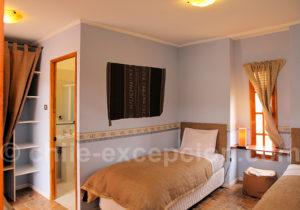 Terrace Lodge, chambre twin