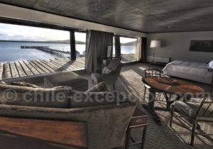 Suite de l'hotel The Singular Patagonia, Puerto Natales