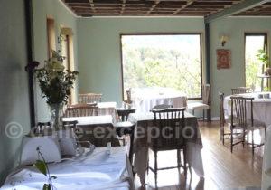 Hotel El Reloj, salle à manger