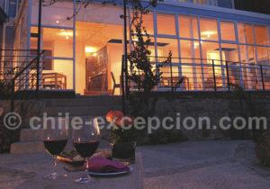 Restaurant de l'hotel Zero à Valparaisoaraiso Hotel Zero