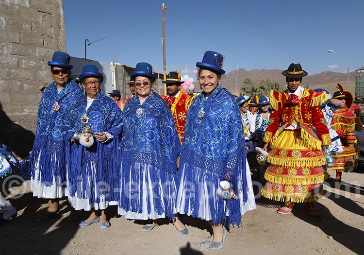 Communauté aymara, nord Chili