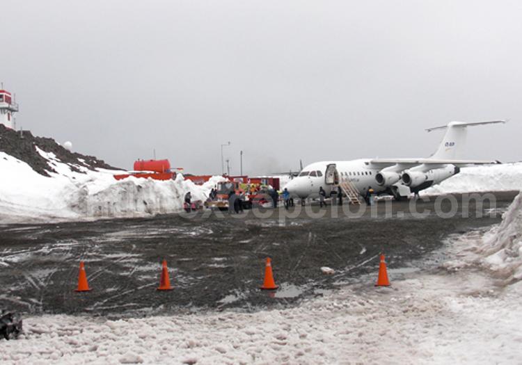 Avion Antarctique BAE-146, Croisière Antarctique ©Luis Campos - 2/6