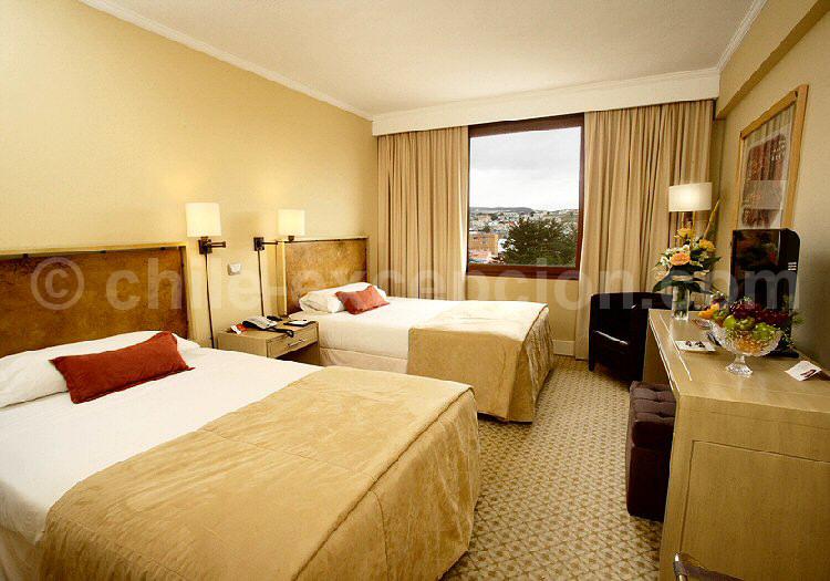 Chambre de l'hôtel Caba de Hornos