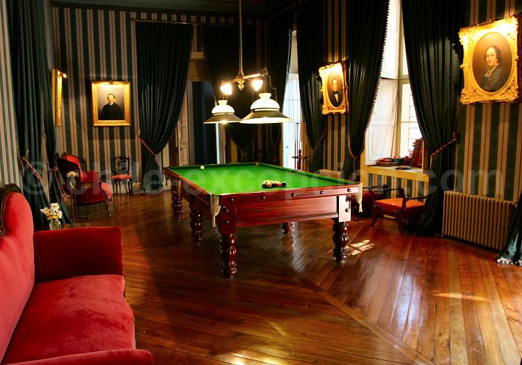 Hôtel Casa Real, Billard