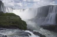Les chutes d'Iguazú, côté brésilien