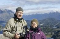 Pose en Patagonie Nord