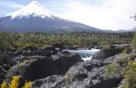 Saltos de Petrohue et volcan Osorno