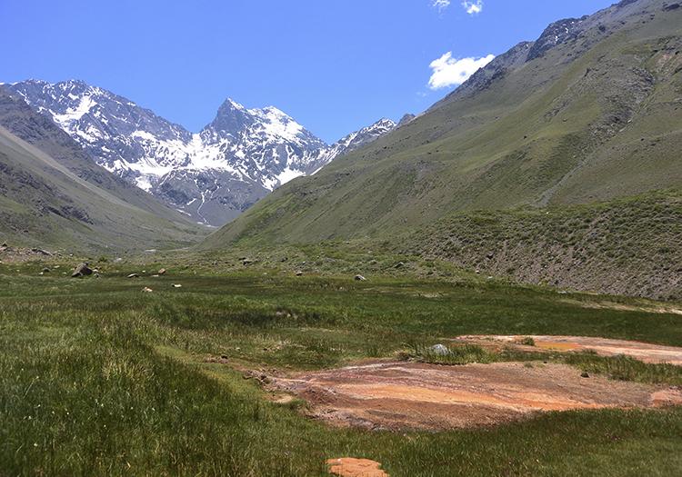 Randonnées dans les Andes près de Santiago