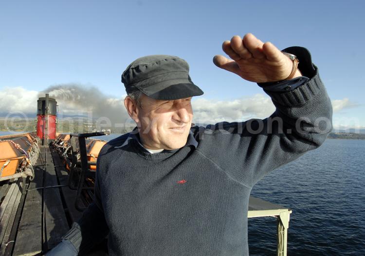 Capitaine du Vapor Chucao - Crédit Thomas Goisque