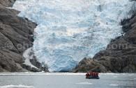 Glaciar Santa Inés © Luis Bertea