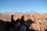 Balade à cheval dans la vallée de la Mort