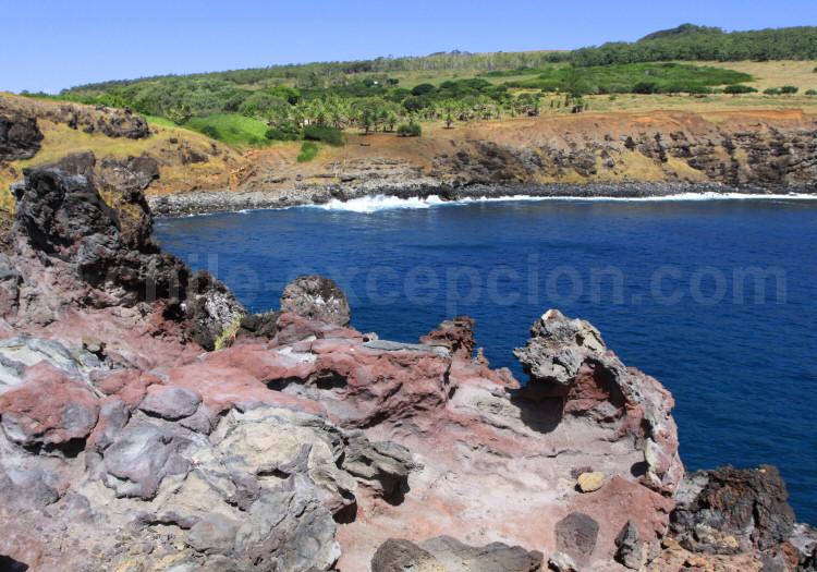 Volcan Orongo, île de Pâques