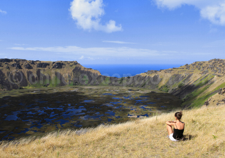 Volcan Orongo, Rapa Nui