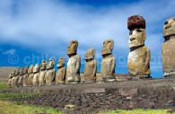 statues moai rapa nui