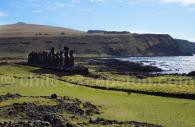 Au pays des moai