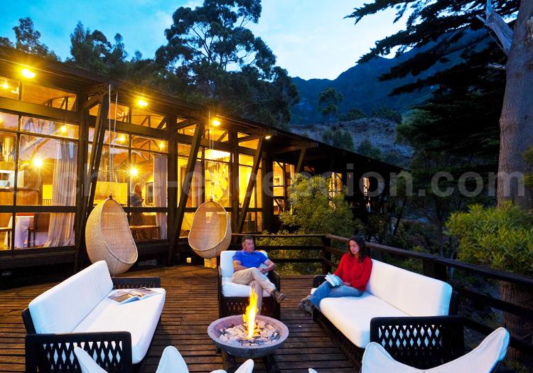 Lodge Crusoé Island, Chili