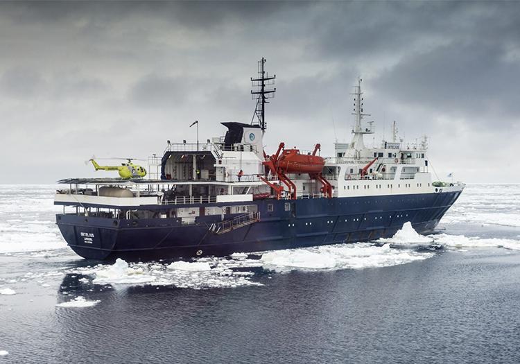 Bateau Ortelius, croisière Antarctique
