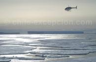 Sortie en hélicoptère – Crédit Henry Malkiewiecz