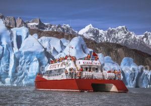 Hotel Lago Grey, navigation glacier Grey