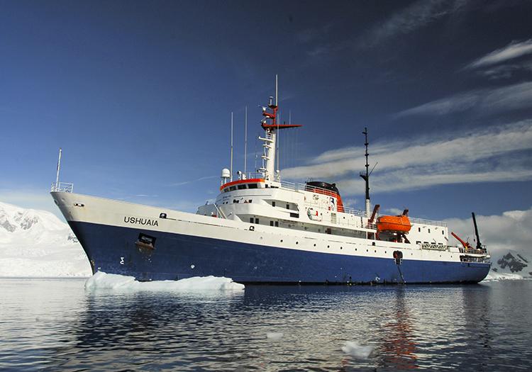 Bateau MV Ushuaia ©Facundo Santana