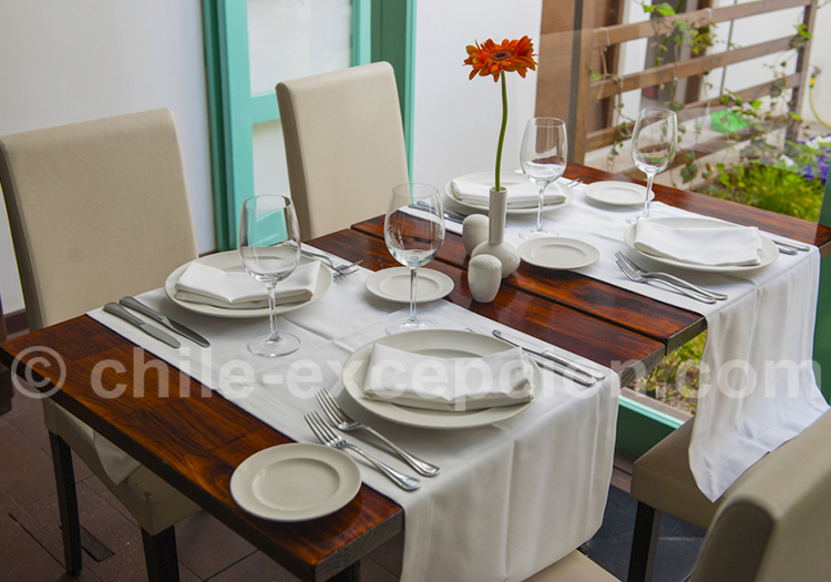 Restaurant du Casa Beltran Arica