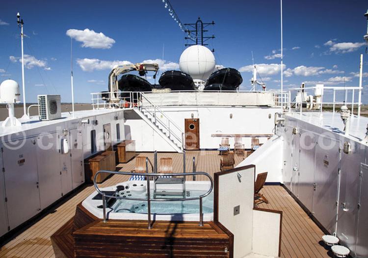 Sea Explorer, Sun Deck avec Jacuzzi