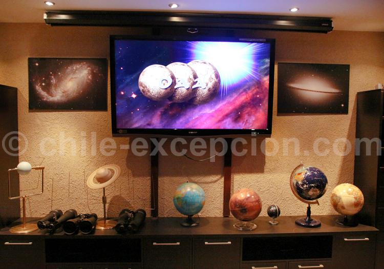 Installations de l'Observatoire Astronomique Andin