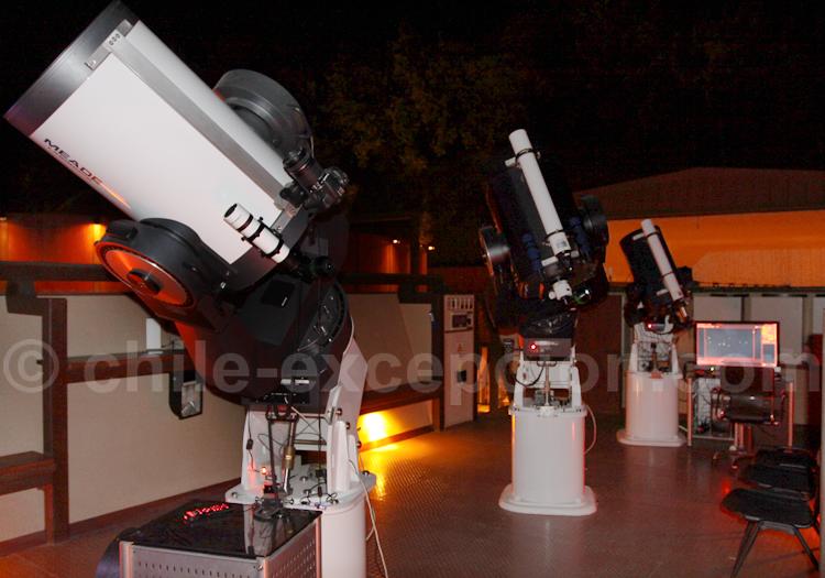 Télescopes de jour équipés de filtre solaire