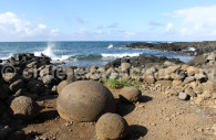 Explosions de magma, île de Pâques