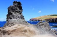 Magma séché, Isla de Pascua