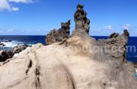 Matière volcanique, Rapa Nui