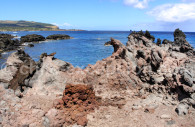 Lave séchée, Isla de Pascua