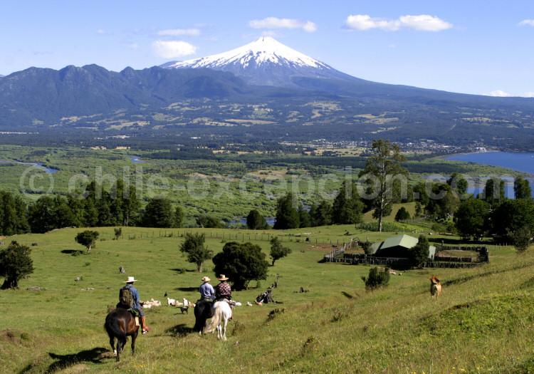 Villarrica, région des lacs