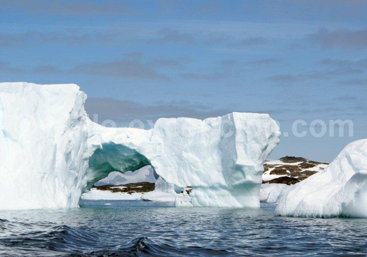 Ile Galindez, Antarctique