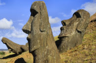 La carrière de Moai