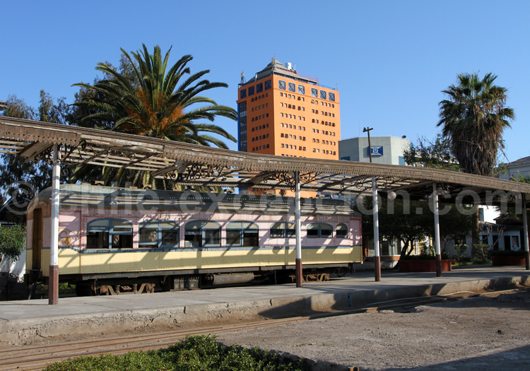 Ancienne station ferroviaire d'Arica