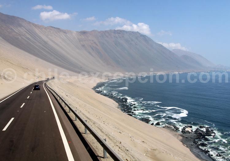 Situation géographique d'Iquique